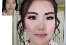 Make up for Rina & kevin 22 sept 18 by Michelle Bridal