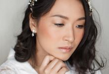 Ms. Nila Wedding Clean Makeup by Chesara Makeup