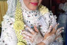 Henna Akad Dan Wedding by Ikkie henna art