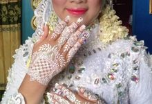 Henna Akad Dan Wedding by Ikkie henna art