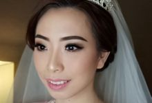 Mega's Wedding Makeup by Oscar Daniel