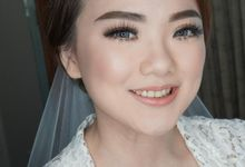 Bride Ms. Fedora by Chesara Makeup