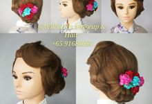 Hairstyle For Wedding by WillieHaz Hair & Beauty