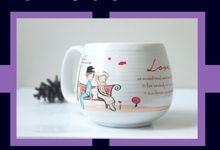 Mug Donat Mini by Mug-App Wedding Souvenir