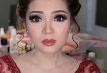 Bold Party Makeup of Maya Septha (23 Okt 2018) by StevOrlando.makeup