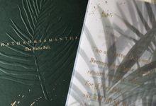Samantha & Jonathan Tropical Wedding by Pemberley Paperie