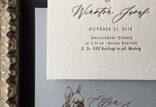 Ellen & Winston Melbourne Wedding by Pemberley Paperie