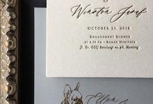 Ellen & Winston Melbourne Wedding by Pemberley Paperie