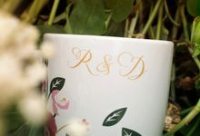 Mug Corning Wedding R&D by Mug-App Wedding Souvenir