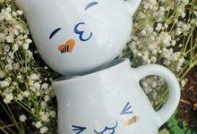 Mug Gentong Yosef & Noviana by Mug-App Wedding Souvenir
