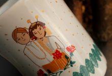 F.Mini Love Dewi dan Adam by Mug-App Wedding Souvenir