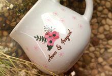 Mug Gentong Wedding Anna&Irsyad by Mug-App Wedding Souvenir