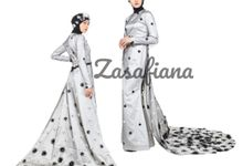 Indonesia Fashion Week by Zasafiana gown and bridal