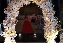 Blessing Ceremony Of Mia & Simon by Miracle Wedding Bali