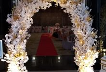 The Blessing Ceremony of Mia & Simon by Miracle Wedding Bali