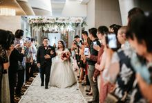 Wedding of Sofie & Marcel at Citywalk Sudirman by Duta Venues