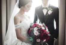 The Wedding of Andy & Novi by Yumi Katsura Signature