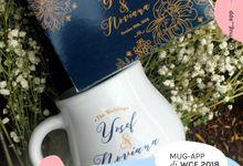 Wedding Yusuf&Noviana by Mug-App Wedding Souvenir