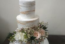Simple And Rustic by Sugaria cake