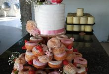 Doughnut In Couple by Sugaria cake