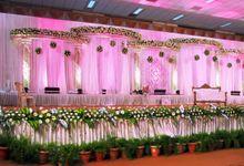 Wedding stage deco by Savis Decorators