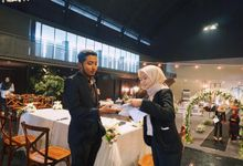 Aulia & Danish Wedding by Glowy wedding organizer