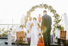 The Wedding of Bogdan & Lolita by Miracle Wedding Bali