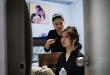 Singapore Wedding Happiness by Angel Chua Lay Keng Makeup and Hair