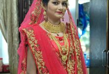 Maharashtrian , South Indian , Muslim Bridal Look by Sama's Makeup Artistry
