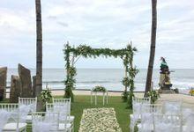 Rustic Wedding Ceremony At The Royal Purnama by Bali Becik Wedding