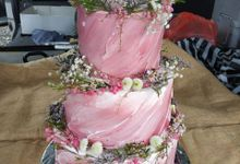 In Pink by Sugaria cake