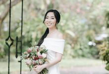 The Prewedding of Ms. Isadora by Tiffany's Flower Room