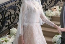 Wedding dress by Yenty Tan