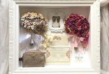 Complete Wedding Memoirs 60x70 2HB by Magnolia Dried Flower