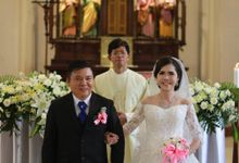 The Wedding Of Yenny & David by Dini Bridal, Salon & Beauty Course
