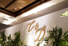 Engagement of Chelsia & David At Shangrila Hotel by Fiori.Co