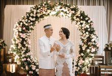 Alya & Reva Wedding at Belleza Permata Hijau by Fiori.Co