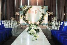 Adli & Suci Engagement at Chakra Lounge by Fiori.Co
