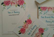 Ian & Fanny by JN Invitation