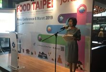Presscon  Food Taipei Show 2019 by MC Mandarin Linda Lin