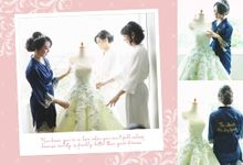 I keep it inside of my heart ❤ by Gorgeous Bridal Jakarta