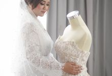 I'm such a lucky bride to have you by my side ❤ by Gorgeous Bridal Jakarta