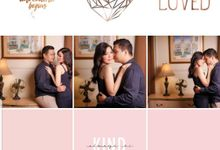 Two unperfected people refusing to give up ❤ by Gorgeous Bridal Jakarta