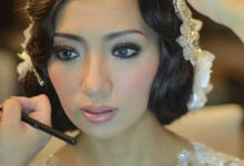 Make Up & Hair Do Hari H by ChrisYen wedding boutique