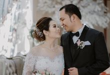 Mr.Eduard Raja Nainngolan & Mrs.Sandra by Ventlee Groom Centre