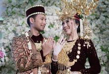Risyad & Monica,  Akad Nikah & Munggah by Andie Oyong Project
