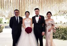 Eric & Alvita Wedding - Ritz Carlton Pasific Place Jakarta by Mosandy Esenway management