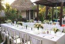 Private Dinner At Kandahill by Becik Florist
