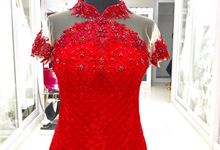 On Progress Custom Cheongsam Dress by D BRIDE