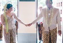 Devi Ardi pemberkatan, panggih, resepsi by The Sasongko wedding planner & organizer